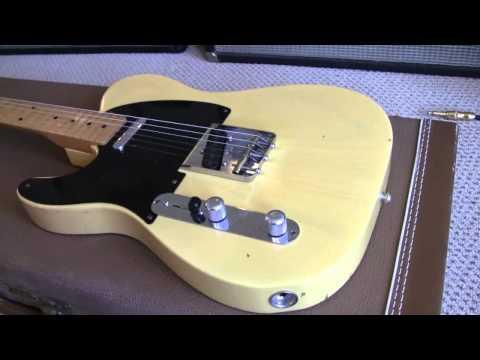 1950 Elliot Easton of the Cars Lefty Fender Custom Shop Tele www.eddievegas.com Eddie Vegas