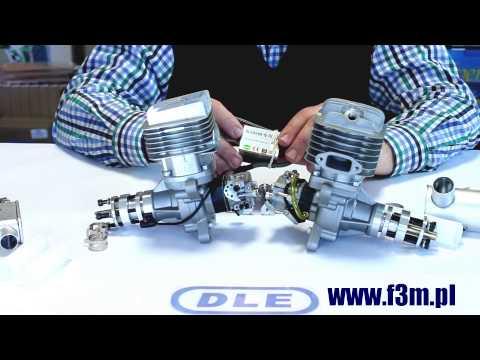 Modelarskie Silniki Benzynowe DLE50 DLE55RA