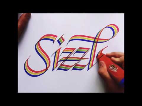 SATISFYING CALLIGRAPHY VIDEO COMPILATION # 2 (Seb Lester & others)