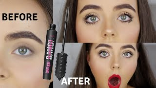 TESTING NEW BENEFIT BAD GAL BANG MASCARA | WORTH THE HYPE? | Conagh Kathleen