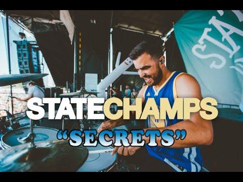 State Champs | Secrets | Drum Cam (LIVE) thumbnail