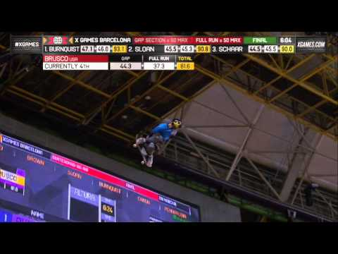 Mitchie Brusco's Big Air 1080 - History Made - ESPN X Games