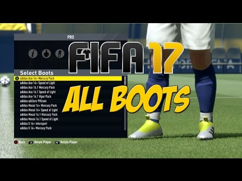 FIFA 17 -  All New Boots!