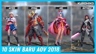 Airi Cantik Banget!! 10 Skin Baru & Keren Arena of Valor 2018