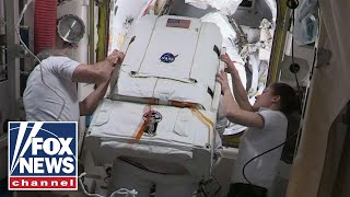 Live: NASA coverage of the International Space Station US spacewalk