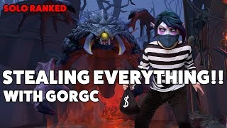 STEALING EVERYTHING - SOLO RANKED with GORGC
