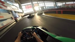 Tomekov Indoor GoPro Karting Session @ Karting Are