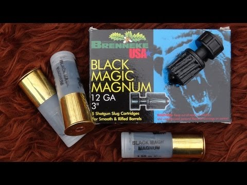Brenneke Black Magic Magnum 12 GA Slug Test