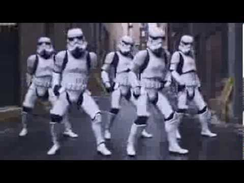 Stormtroppers Dancing Crew + Epic Sax Guy!!!