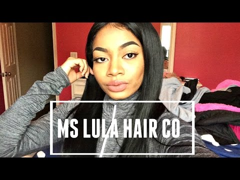 SOME BOMB HAIR!! Ms Lula Hair Co (Aliexpress Peruvian Straight REVIEW)