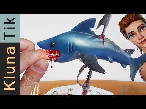 FORTNITE SHARK ATTACK  | KLUNATIK ASMR eating sounds no talk ataque de tiburón, サメの攻撃