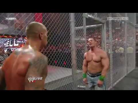 WWE Raw 28/09/09 John Cena vs Jericho/Big Show and Randy 1/2