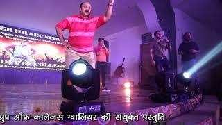 Dancing Star Sanjeev Shrivastava (Dabbu Uncle) With EBENEZER Star Singer Master Divyansh Nagele