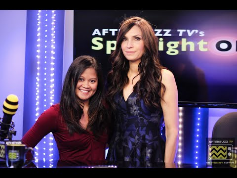 Famke Janssen Interview (Hemlock Grove, XMen) | AfterBuzz TV's Spotlight On