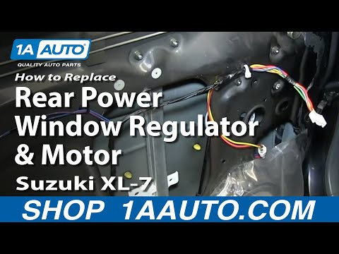 How to install replace rear power window regulator honda for 2001 honda civic window regulator replacement