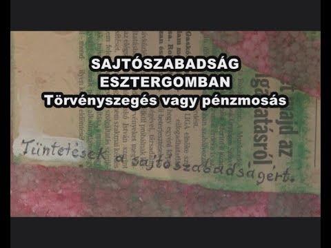 Kondor Katalin X. rész: SAJTÓSZABADSÁG ESZTERGOM