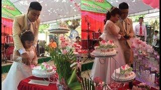 Hot: Đám cưới của cô dâu 'tí hon' và chú rể 'khổng lồ' tại Đồng Nai [Tin mới Người Nổi Tiếng]