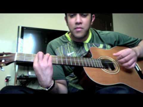 Teeja tera rang guitar tutorial n solo