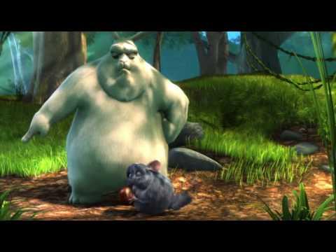 Fetter Hase vs. Drei Eichhörnchen