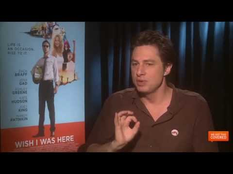 Wish I Was Here Interview With Zach Braff [HD]