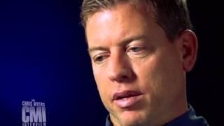 Chris Myers interviews Troy Aikman