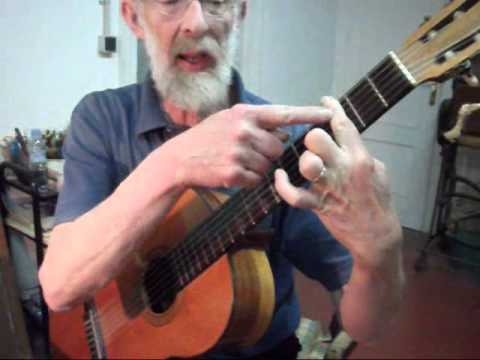 Cursillo  interactivo de guitarra: LA CEJILLA - vídeo nº 1 de 5