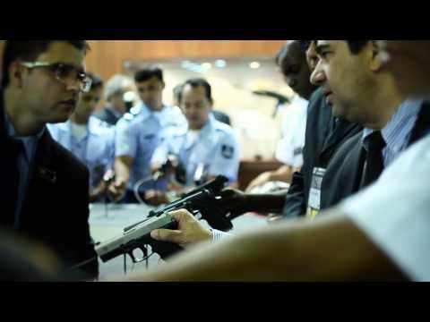Taurus Armas na LAAD Defence & Security - 2013 - Feira Internacional de Defesa e Segurança