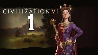Sid Meier's Civilization 6 - Polska #1 - Początki Państwa Polskiego  (Gameplay PL)