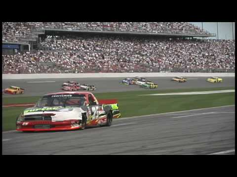Geoff Bodine EXCLUSIVE accident Daytona wreck 2000 Truck Video