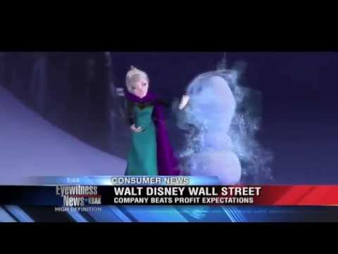 Disney hit 'Let it Go' tops the charts