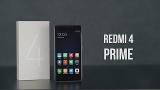 Xiaomi Redmi 4 Prime. Распаковка, первое впечатление, тест камеры.