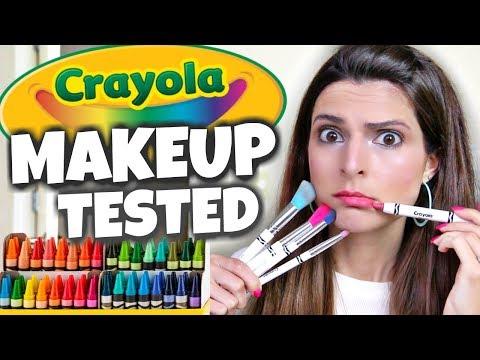 Testing CRAYOLA MAKEUP - Honest Review // SoCraftastic