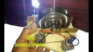 100% Successful wheel Free Energy Generator | without battery energy,  amazing ideas 2019