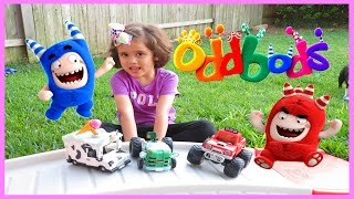 ODDBODS Toys FUSE Monster Truck ZEE Tractor POGO Ice Cream Truck