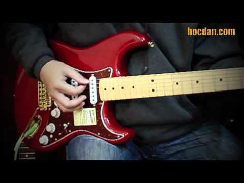 E-guitar - Cách rải hợp âm Slow và SLOW ROCK