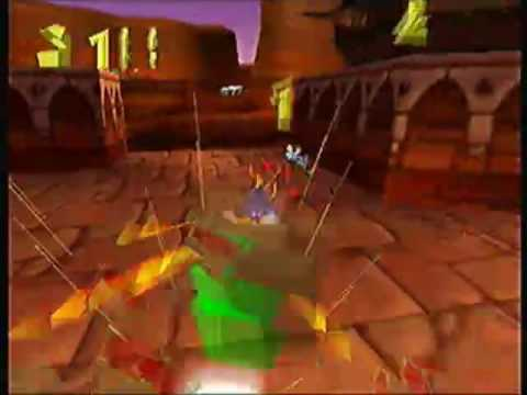 Spyro the Dragon - Dry Canyon