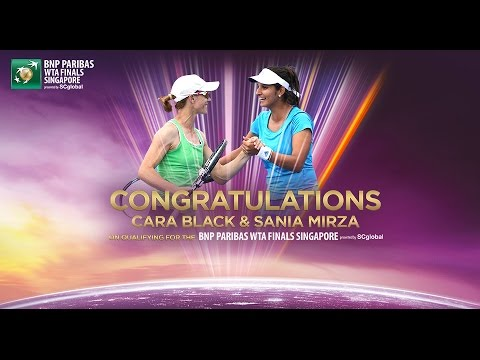 Cara Black & Sania Mirza Qualify For 2014 WTA Finals