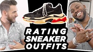 Rating Subscribers SNEAKER Outfits with Gents Lounge | PART 2 | StyleOnDeck