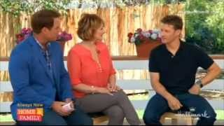 Will Estes - Hallmark -  Home & Family - 06. 23.14