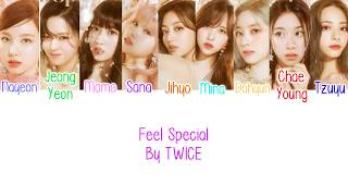"TWICE (트와이스) ""FEEL SPECIAL"" SILHOUETTE TEASER (Color Coded Lyrics Eng/Rom/Han/가사)"