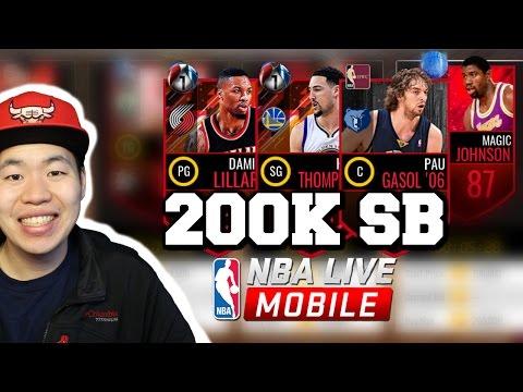200k Budget Beast Killers- Small Ball Lineup - Nba Live Mobile