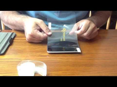 How to Install a Screen Protector on Google Nexus 7