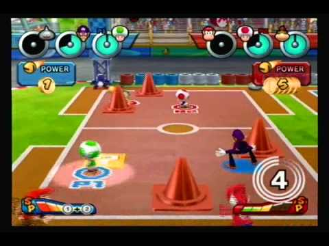 mario sports mix  dodgeball game  youtube