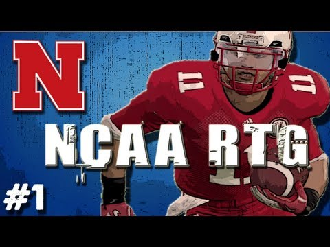 NCAA Football 12 - Road to Glory Ep.1 Creation of Anto Garabet RB