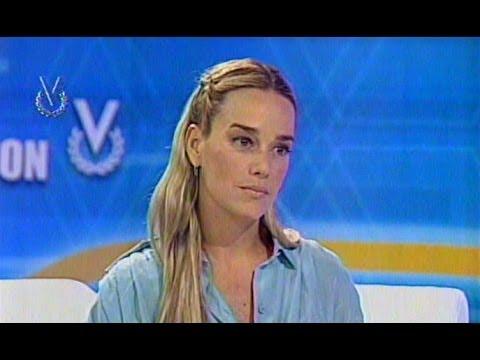 Entrevista Venevisión: Lilian Tintori, esposa de Leopoldo López