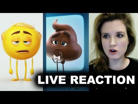 The Emoji Movie Trailer Reaction