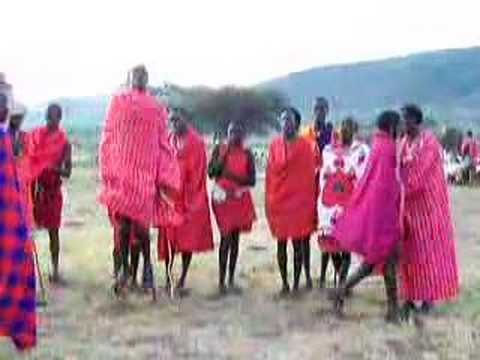 Masai tribe dances