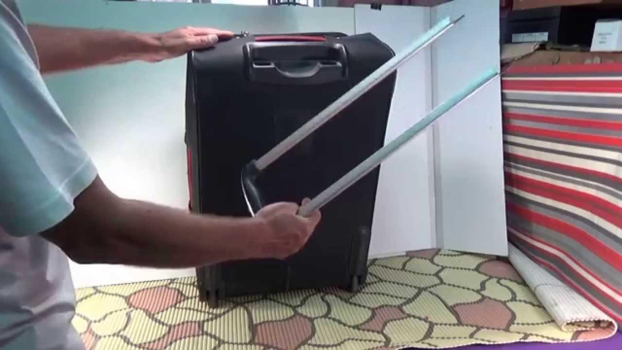 Ремонт корпуса чемодана на колесиках своими руками 10