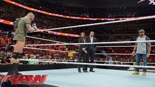 Triple H, Randy Orton and Batista look toward WrestleMania 30: Raw, March 31, 2014