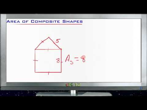 Area of Composite Shapes Principles - Basic